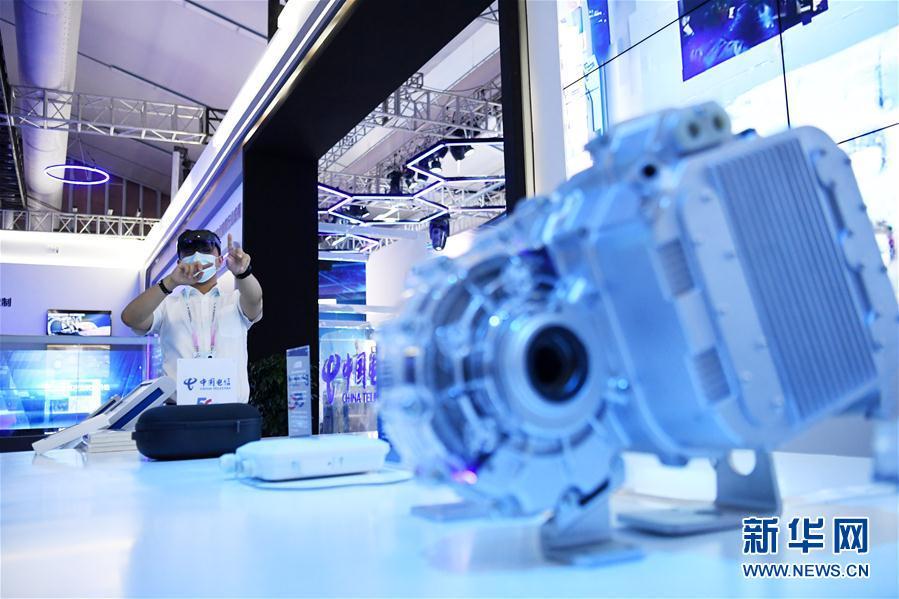 (经济)(5)2020线上中国国际智能产业博览会开幕